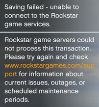 Unable To Connect To Rockstar Game Services